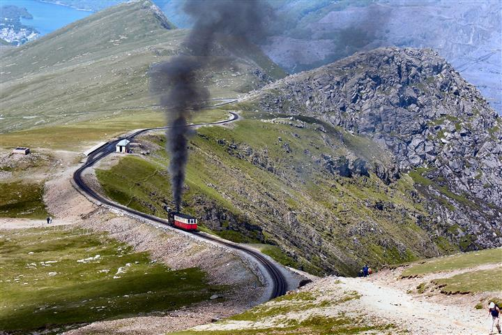 a classic steam train
