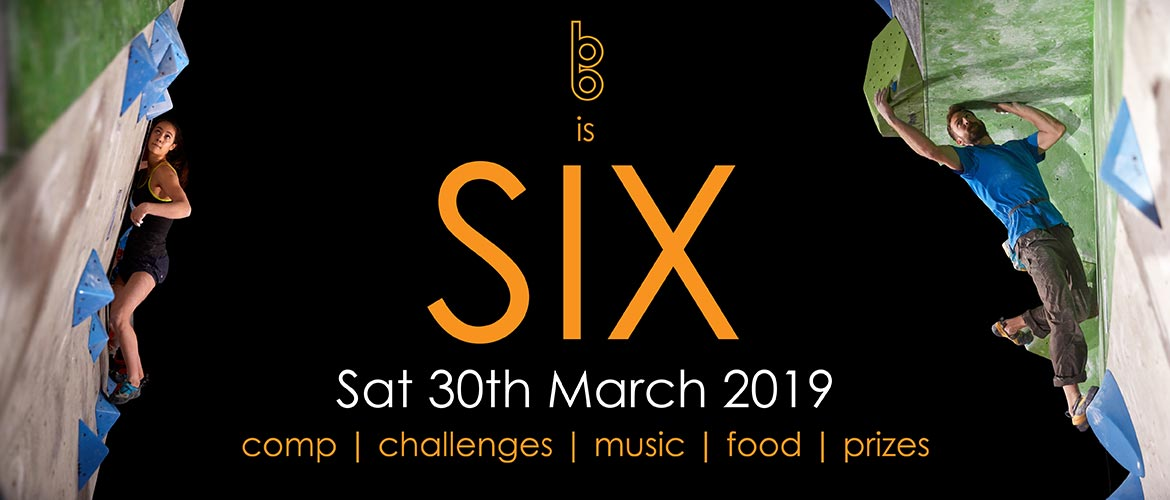 BB is SIX, Sat 30th March 2019