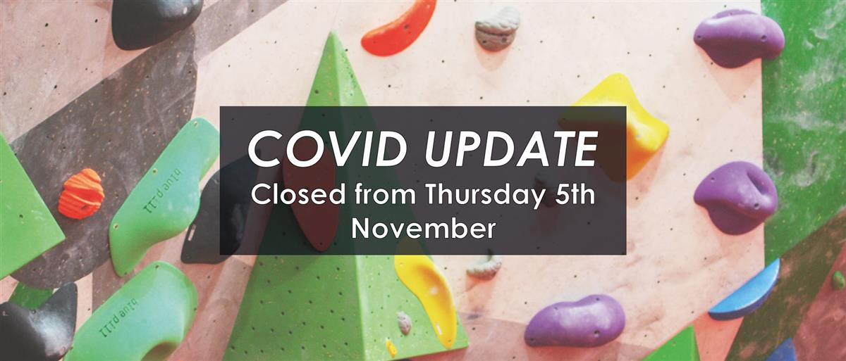 Covid-19 update: closed from Thursday 5th November