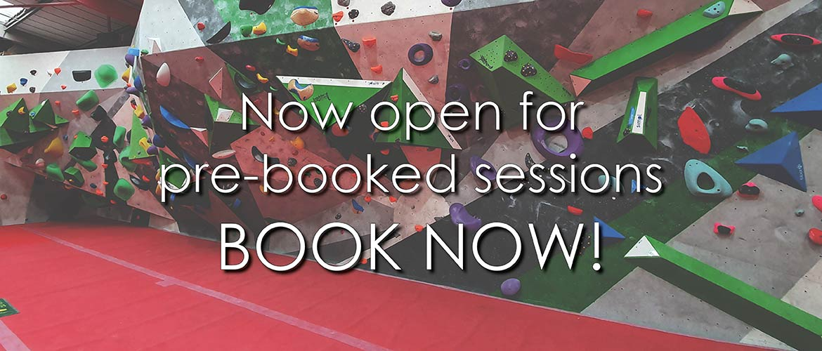Now open for pre-booked sessions, Book Now!