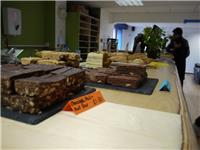 Vegan tiffins and triple choc brownies