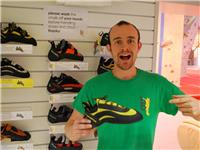 Tom F's favourite shoe - the La Sportiva Miura! (Other shoes are available...)