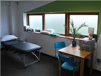 Physio treatment room