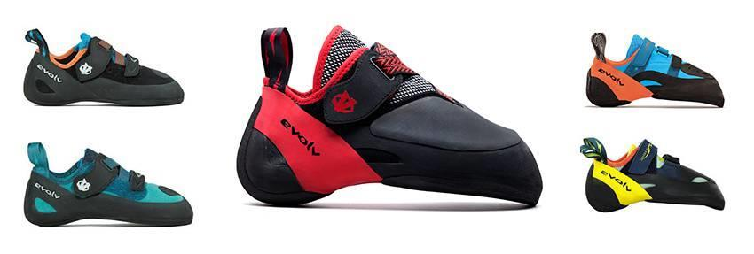 Evolv climbing shoe demo