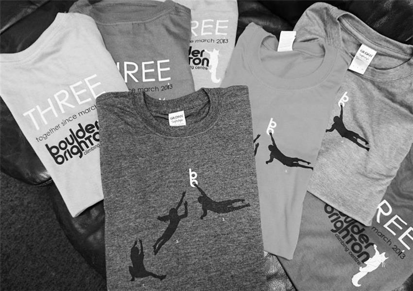 BB THREE comp t-shirts arrived