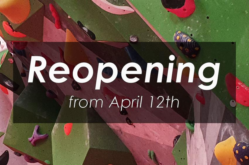 Reopening april 12th