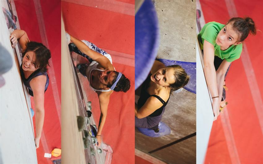 Women climb for £5 from 5pm on 8th March!