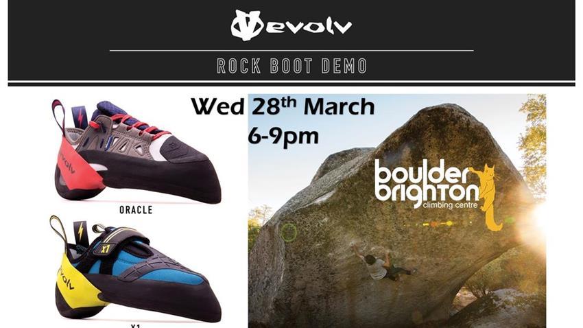 Evolv Boot Demo evening