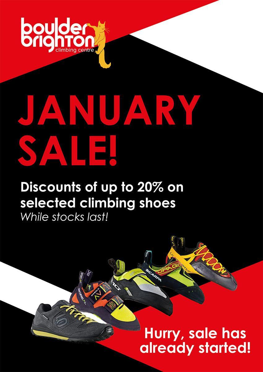 January shoe sale