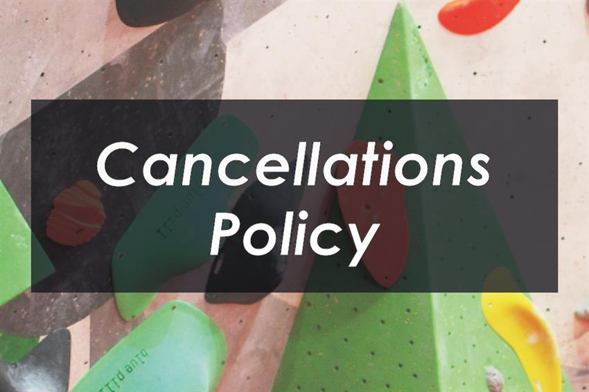 Cancellations policy