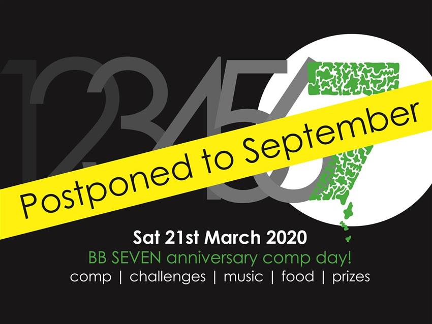 SEVEN has been postponed