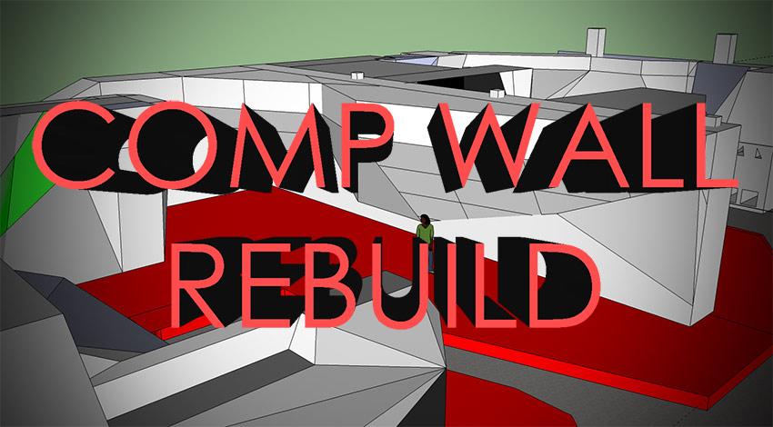 Comp Wall rebuild 2018