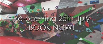 Re-opening 25th July, book now!