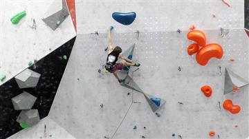 BB Team at the British Lead Climbing Champs