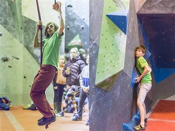 Brighton climbers on the national stage