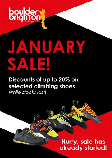 January shoe sale