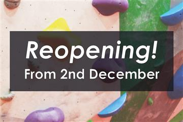 Reopening from 2nd Dec