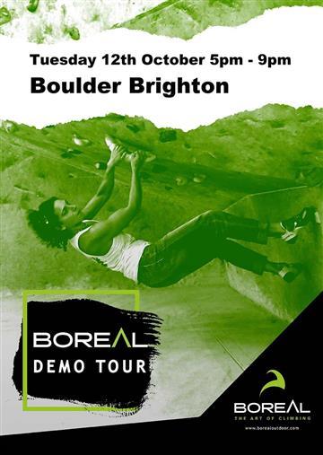 Boreal boot demo