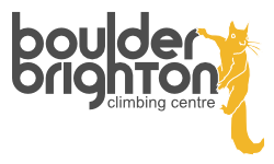 Boulder Brighton logo with squirrel mascot